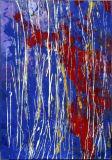 Peinture à l'huile abstraite (AB250)