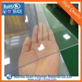 3 * 4 hoja transparente de PVC, PVC rígido hoja de plástico transparente de la caja plegable
