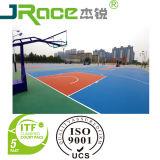 Superficie di sport della vernice del pavimento del campo da pallacanestro
