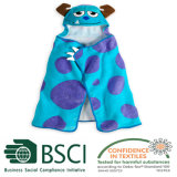 3D Animal Design Cotton Baby Hooded Towel