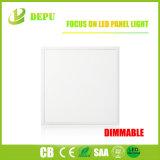 세륨 RoHS를 가진 천장 또는 중단하거나 거는 정연한 Dimmable 595*595mm LED 위원회 전등 설비