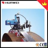 HK-100s oszillieren flexibler Schienen-Spur-Rohr-Becken-Schweißens-Traktor mit Fackel-Halter
