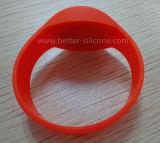 Wristband de borracha esperto do silicone da promoção RFID
