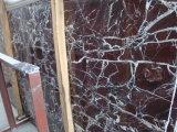 Mattonelle di pavimento di marmo rosse di Rosso Levanto per la decorazione commerciale della costruzione