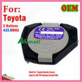 Interior remoto original para Toyota com 2 teclas 433.9MHz