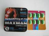 Píldoras masculinas herbarias Gh012 del reforzador del sexo de Maxman V