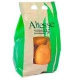 Овощи упаковывая мешок Kraft бумажный с сетчатым окном