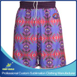 Sublimation su ordinazione Lacrosse Reversible Short per Team Sporting