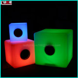 LED iluminado Sound Cube Sensible Bluetooth Diseño brillan en la oscuridad Bluetooth