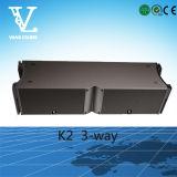 Linha ao ar livre altofalante do tamanho K2 grande 3-Way profissional do som da disposição