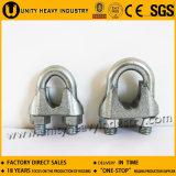 중국 공급자 DIN 741 Galv 가단성 철강선 밧줄 클립