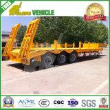 Axle 3 трейлер тележки Lowbed 60 тонн