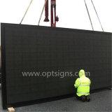 Optraffic HD RGB P10 LED表示ボード、屋外P10 LED表示LED表示を広告する