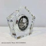 Orologio a cristallo di vendita caldo popolare dello scrittorio per il regalo Mn-5169 di promozione