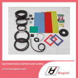 Heißer Verkaufs-flexibler Plastikmagnet mit Abnehmer-Entwurf