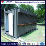 Легкие собранные дома контейнера металла стальной рамки