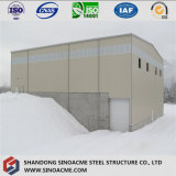 Structure métallique pré conçue pour l'entrepôt mobile