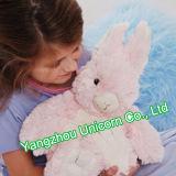 Le bébé de peluche de peluche de lapin de jupe de robe de la CE apaisent le jouet