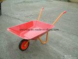 Piccola carriola dei bambini con il cassetto del metallo (Wb0100)