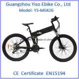 Straßen-elektrisches Fahrrad des Heimlichkeit-Bomber 36V8.8ah Li-Ionbatterie-preiswerte elektrische Gebirgsfahrrad-E, das elektrisches Fahrrad faltet