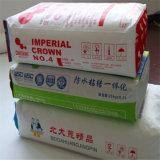 De Kraft del papel bolso interno material tejido Side+Polypropylene del embalaje hacia fuera