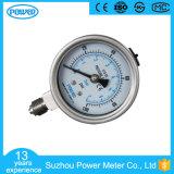 2.5 polegadas - qualidade elevada todo o calibre de pressão do aço inoxidável