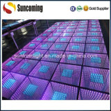 携帯用Highquality 3D Mirror時間Tunnel Dance Floor Panels