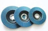 Disco ricoperto di ossido di alluminio della falda per l'acciaio legato e l'acciaio bassolegato