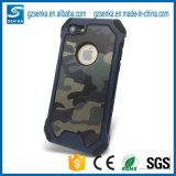 Caja a prueba de choques accesoria del camuflaje del teléfono para el iPhone 5s/Se