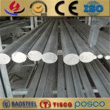 Barre ronde d'acier inoxydable de 1/8 po. de diamètre 304