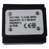 Kapseln Transformator (EI38 / 14), Schaltnetztrafo