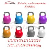 Bodybuilding를 위한 주문을 받아서 만들어진 Special Logo Engraved Kettle Bell