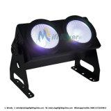 1개의 LED 곁눈 가리개 LED 경청자 빛에 대하여 2*100W RGB 3