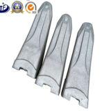 Dents s'engageantes au sol de position de chat d'outils de pièce forgéee chargeur défonceur chaud/froid d'OEM Esco/KOMATSU/dents position de bloc supérieur/excavatrice de Hensley