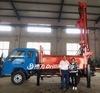 Dfq-200c携帯用トラックによって取付けられる空気DTHのハンマーの井戸のDrillig機械価格