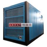 オイルによって油を差される二重回転子回転式ねじ空気圧縮機