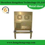 Изготовление металлического листа делая приложение машины