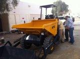 3.0ton de hydraulische ZelfKipwagen van de Plaats van de Lading