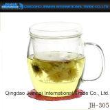 Cristalleria della tazza di tè delle Tre-Parti per bere