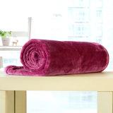 Cobertor contínuo pequeno da flanela do cobertor do poliéster (SR-B170316-38)
