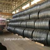 Gemaakt in de Gehele Verkoop Milde Ungalvanized SAE 1006/1008/1010 Rollen 5.5mm van China van de Draad van het Staal
