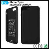 Banco protetor móvel da potência do bloco da bateria do telemóvel 3800mAh do telefone para o iPhone 7 de Apple mais 5.5 polegadas