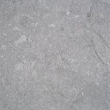 Telha cinzenta italiana natural da parede da pedra calcária da pedra do escudo para o exterior