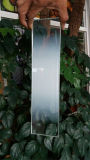 El ácido grabó al agua fuerte el vidrio con el gradiente para el sitio de ducha
