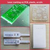 Высокоскоростная машина маркировки лазера волокна для USB, ключевой цепи, гравировки маркировки логоса подарка