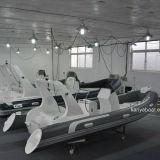 Barco inflável do reforço do PVC do barco da casca da fibra de vidro de Liya 6.2m Hypalon