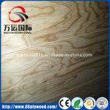 madera contrachapada del pino de Radiata de la base del álamo 4X8 para los muebles y la decoración