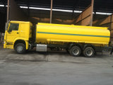 재고 25m3 석유 탱크 트럭에 있는 HOWO 2 단위