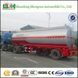 열 세 배 차축 스테인리스 실용적인 석유 탱크 세미트레일러