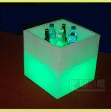 LED 입방체 테이블 또는 유행 점화 테이블 또는 여가 빛나는 테이블 입방체 얼음 양동이